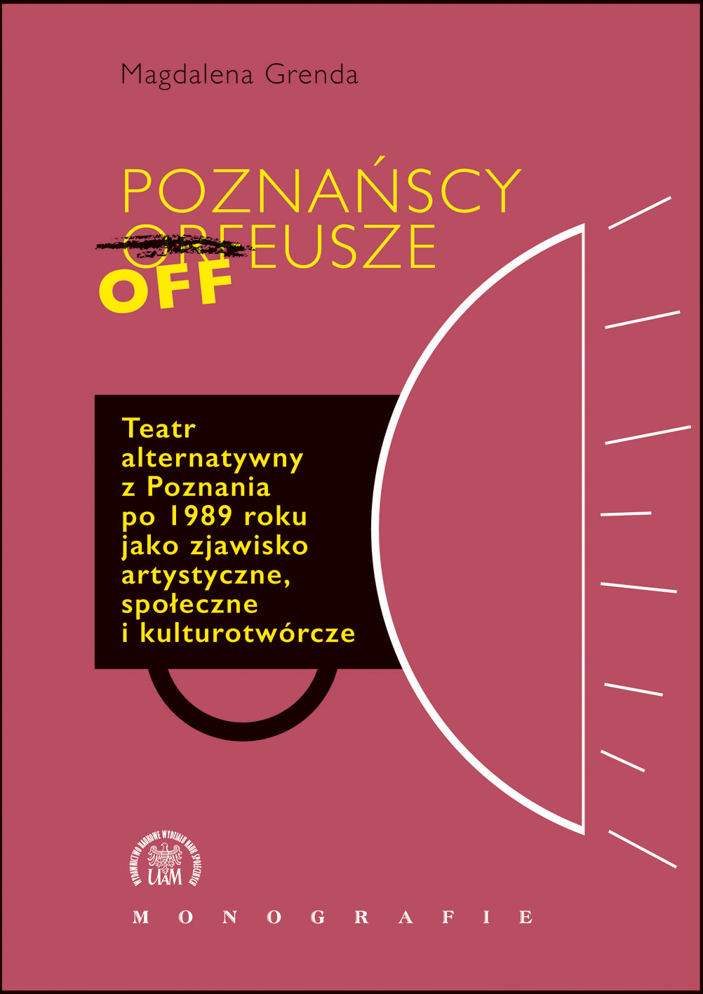 Poznańscy Offeusze. Teatr alternatywny Poznania po 1989 roku jako zjawisko artystyczne, społeczne i kulturotwórcze - Kulturoznawstwo UAM