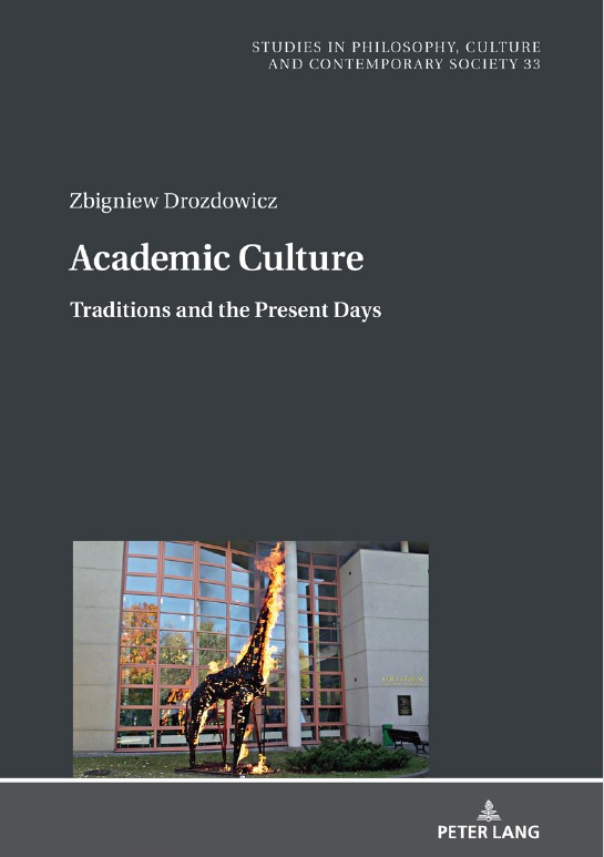 Academic Culture. Traditions and the Present Days - Kulturoznawstwo UAM